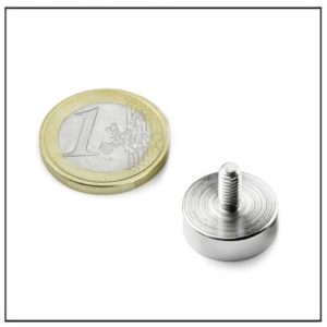 Neodymium Screw Pot Magnet Ø18 mm