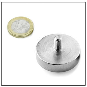 Neodymium Strong Pot Magnet with Screw Thread Ø36 mm