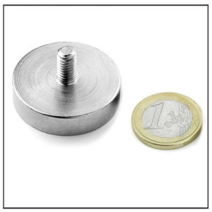Strong Neodymium Threaded Stem Magnet