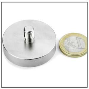 Stud NdFeB Pot Magnet Ø42 mm