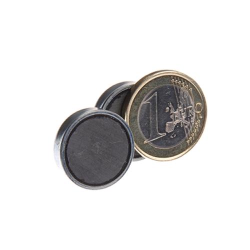 Ø20 x 6 mm Flat Ceramic Pot Magnets