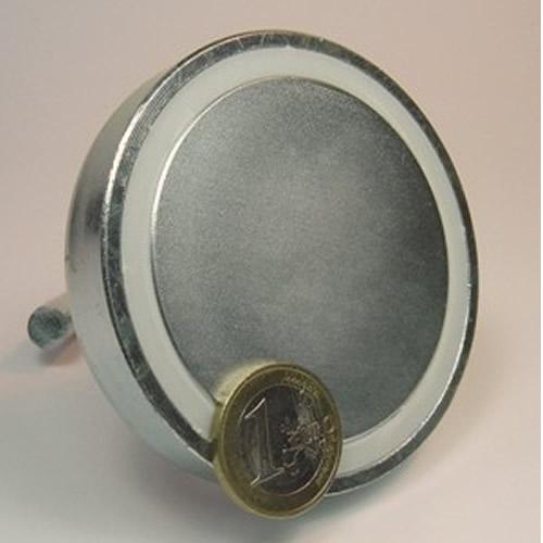 75mm Sintered Neodymium Hook Magnet