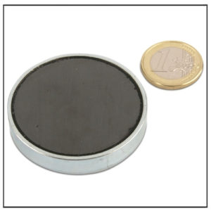 Ceramic Mounting Permanent Magnets 50 x 10mm