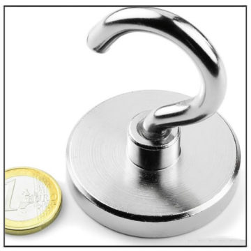 Clamping Hook Magnet Ø50 mm