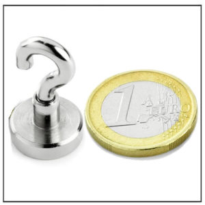 Sintered Neodymium Magnetic Hook Ø16 mm