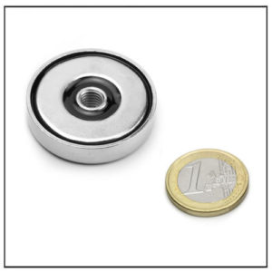 Strong Cup Magnet with Threaded Hole Ø36mm