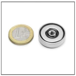 Threaded Hole NdFeB Pot Magnet