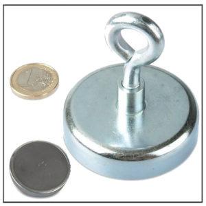 Ferrite Cup Eyebolt Magnet