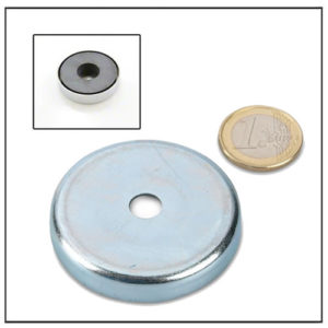 Sintered Hard Ferrite Pot Magnet with Hole