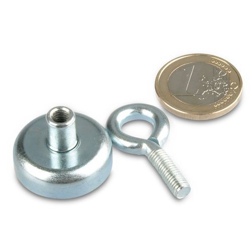Strong Holding & Mounting Eyelet Magnet