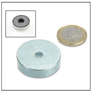 Through Hole Ferrite Pot Magnets