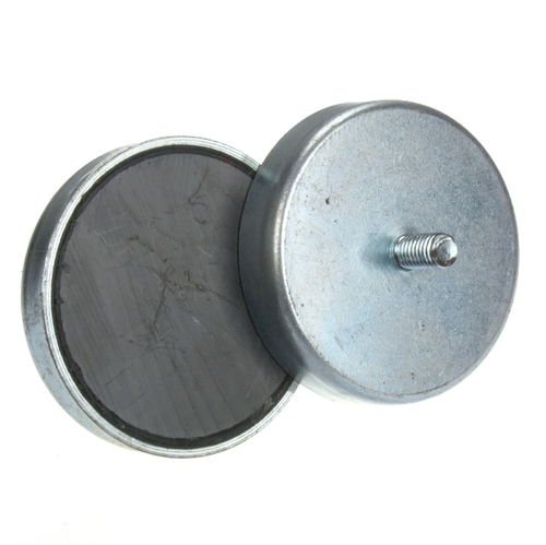 Ø50mm Hard Sintered Ferrite Pot Magnet
