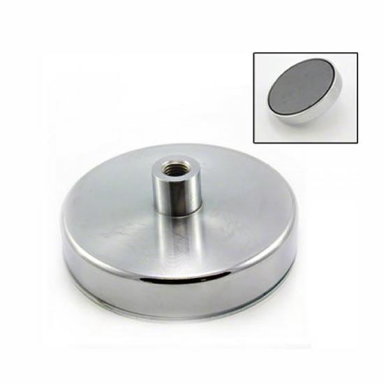 125mm Threaded Bushing Ceramic Holding Magnet
