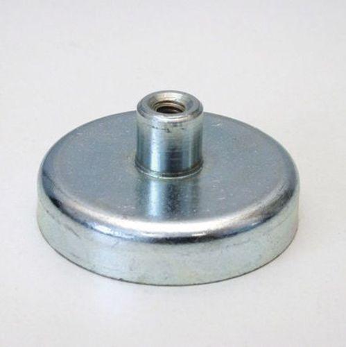 63mm hard sintered ferrite permanent pot magnet