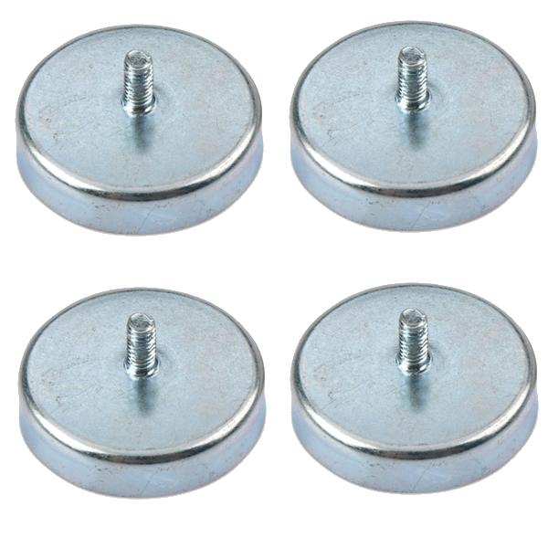 External Thread Ceramic Pot Magnets