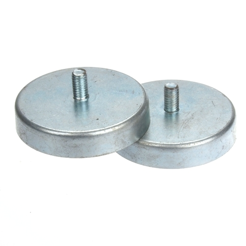 Ferrite External Threaded Stud Pot Magnet