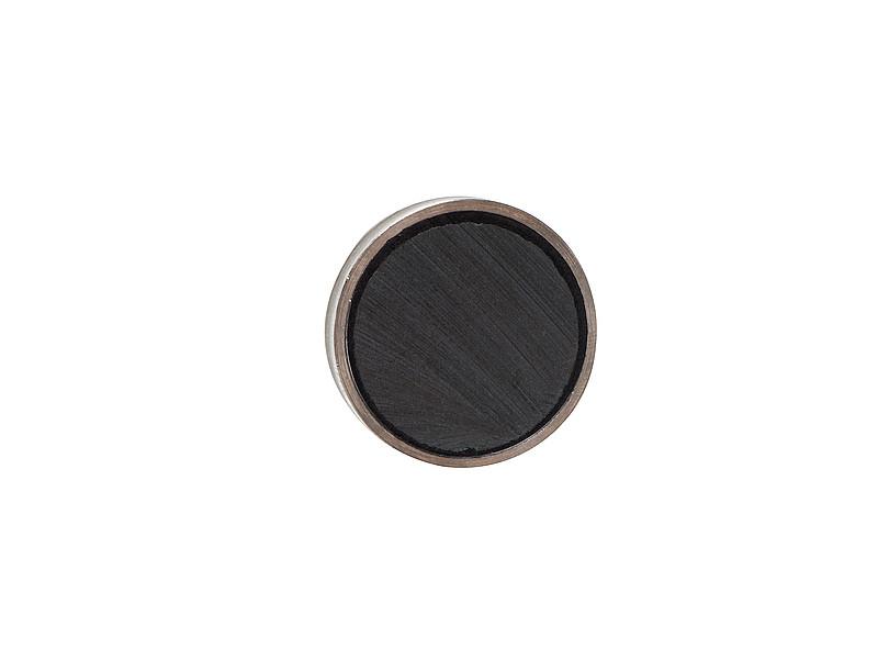 Hard Sintered Ferrite Pot Magnet Back Buttom