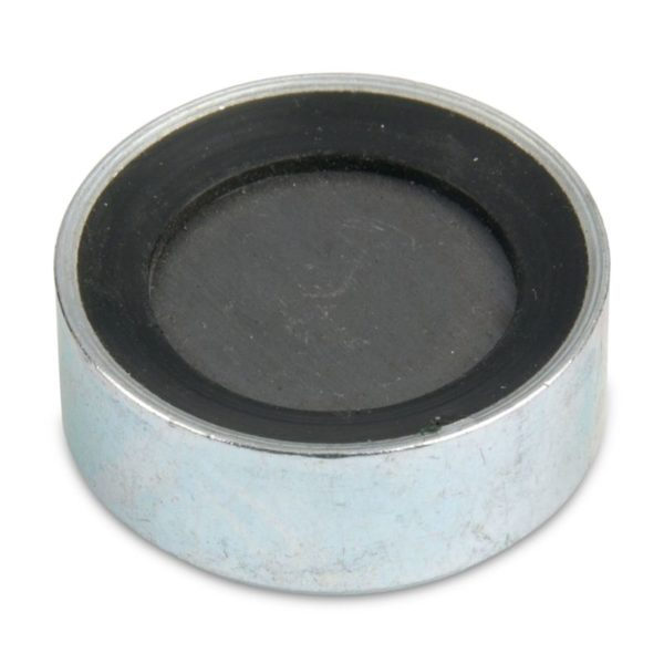 Rubber Radius on Adhesive Side Ceramic Cup Magnet
