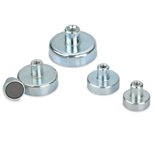 Threaded Bushing Ceramic Cup Magnets