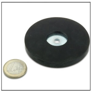 Rubber Covered Magnetic Holding Base Ø 66mm