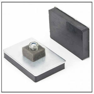 Rubber Covered Magnetic Mounting Pad MagPad-3