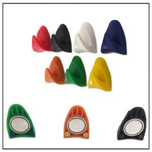 Asst. Colors Neodymium Plastic Magnetic Hooks