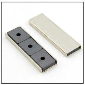 Ceramic Rectangular Channel Magnet