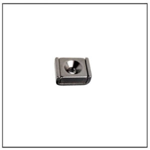 NdFeB Countersunk Square Magnet