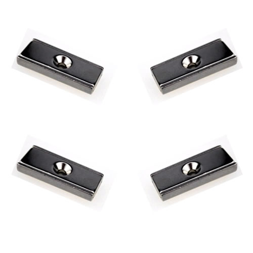 Neodymium-Countersunk-Rectangle-Channel-Magnets
