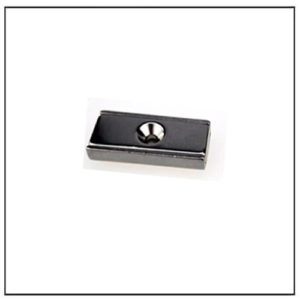 Neodymium Rectangular Channel Mounting Magnet Assembly