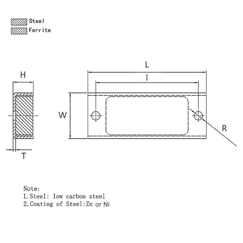Rectangular-Channel-Magnet-drawing