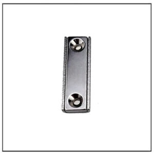 Two Holes Neodymium Channel Countersunk Magnet