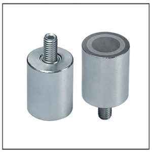 External Thread Alnico Cylindrical Magnet Assemblies