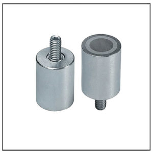 Galvanized Alnico Pot Magnet with Threaded Neck