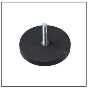 Rubber Coated Magnetic Systems with Male Thread