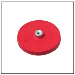 Rubber Magnetic Systems with Threaded Bushing