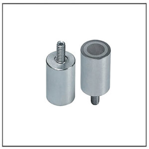 Small Alnico Cylinder Cup Magnet Assemblies