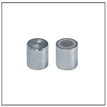 10mm Alnico Flat Cylindrical Pot Magnet