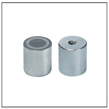 13mm Deep Pot Alnico Holding System with Internal Thread
