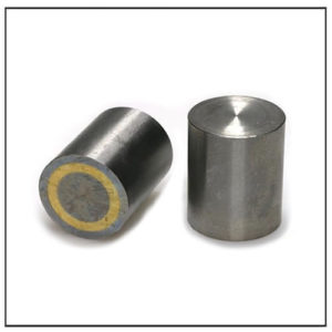 25mm AlNiCo Bar Pot Magnet w Fitting Tolerance h6