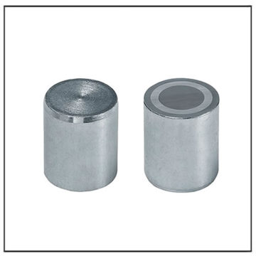 35mm Zinc Plated Alnico Deep Cup Magnets