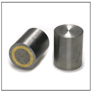 40mm Alnico Cylindrical Pot Magnet w Fitting Tolerance h6