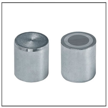 40mm Flat Alnico Deep Pot Magnet