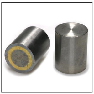 63mm 450 ° C Tolerance h6 Deep Pot Alnico Rod Magnet