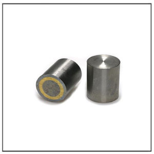 6mm Small Alnico Deep Pot Magnet with metal pot and fitting tolerance h6