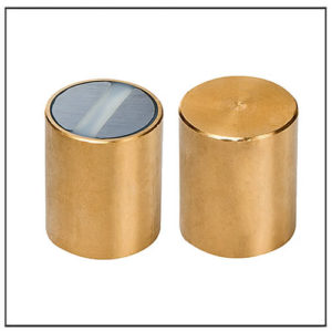 25mm Bar Magnet SmCo, brass body with fitting tolerance h6