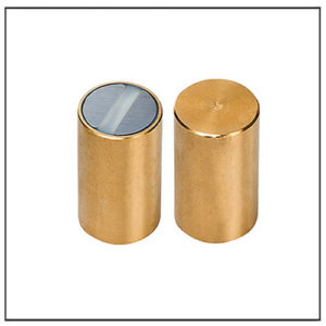 6mm SmCo Rod Magnets Brass Body Fitting Tolerance h6