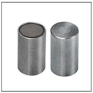 8mm Flat SmCo Deep Pot Magnet