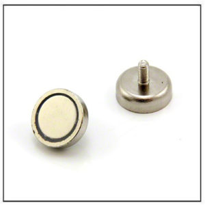 SmCo Pot Magnet with Male Threaded
